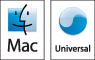 Universal application logo